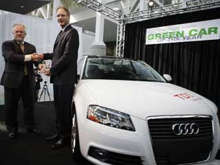 Audi's A3 TDI named 2010 Green Car of the Year