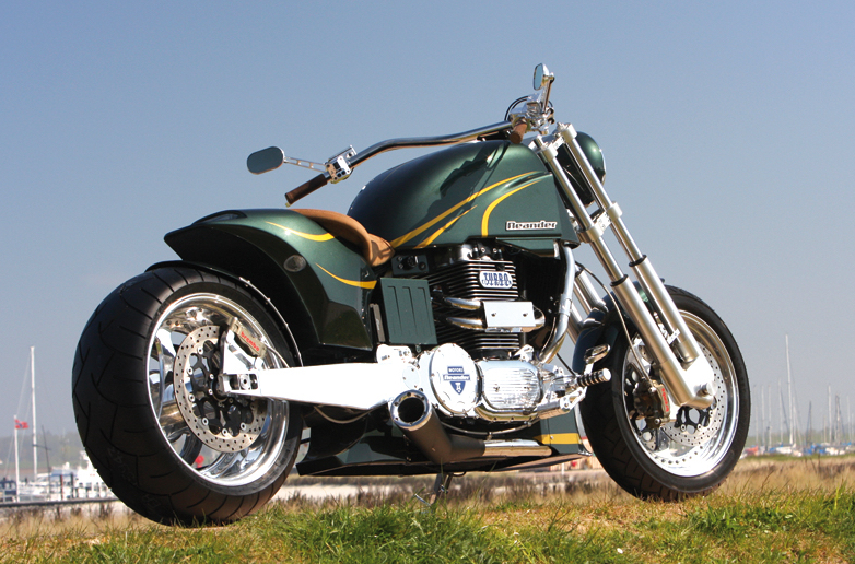 Awesome Neander Motorcycle